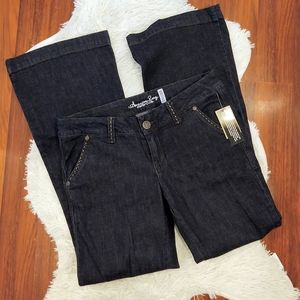 NWT American Rag Trouser Jeans Dark Wash